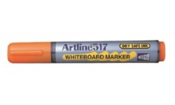 Whiteboardpenna Artline EK-517 Rund spets Orange